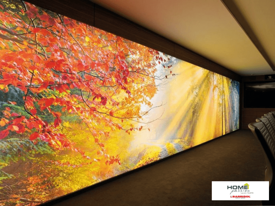 Plafond tendu mural image